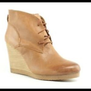 Lucky Brand wedge ankle boot